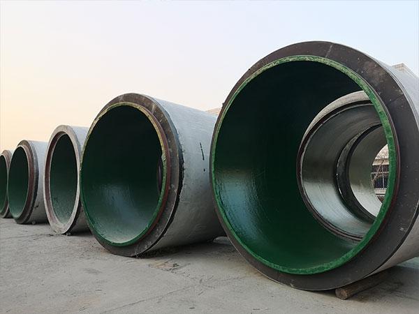 张家口3200x2500钢筋混凝土带防腐涂层管